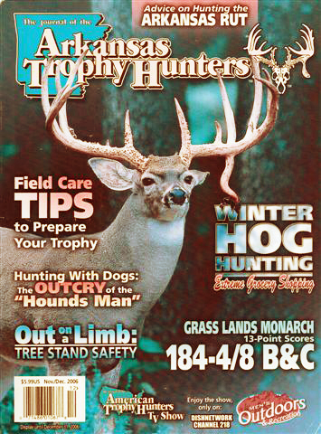 CA Makes the Cover of Arkansas Trophy Hunters