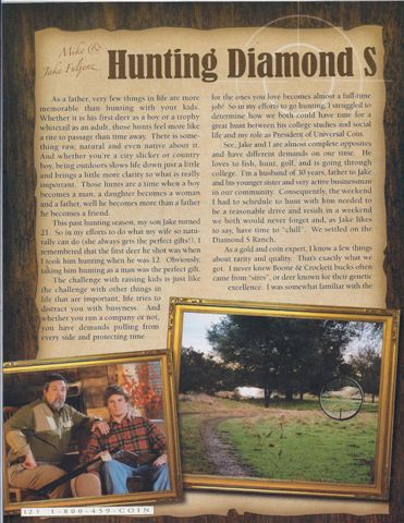 Mike and Jake Fuljenz Shared Their Hunt Story in NRA Magazine